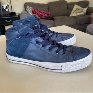 Converse blue All Stars sneakers, size 8.5 men